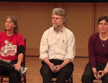 Bill Ragen, Lisa Fithian, and Mary Anne Hohenstein (April 29, 2013)
